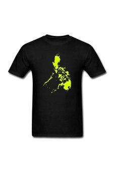 Men's Philippines design Personalize T-Shirt for Black - Intl