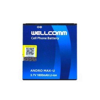 Wellcomm Battery Double IC Untuk Smartfren Andromax U terpercaya