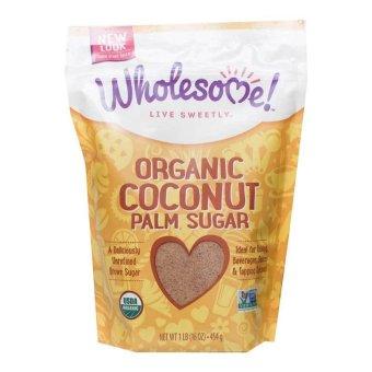 Wholesome Sweeteners Organic Coconut Palm Sugar 454g