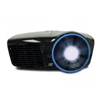 InFocus IN-3136A Professional Full 3D Network DLP Projector - 4500 ANSI - WXGA 1280x800 - 8000:1 - Hitam