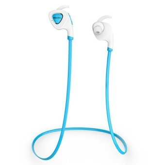 Bluedio Q5 Bluetooth V4.1 Wireless Sports Headphone for Smartphone Tablet PC (Blue) (Intl)