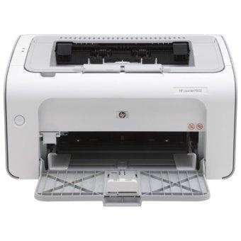 harga HP LaserJet Pro P1102 Mono Printer - Putih Lazada.co.id