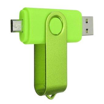 UJS 8GB Micro USB OTG Flash Drive Memory Thumb Stick Green (Intl)