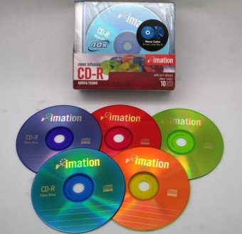 Imation CD-R blank 80 Min/700MB 10 pc (1 pack)