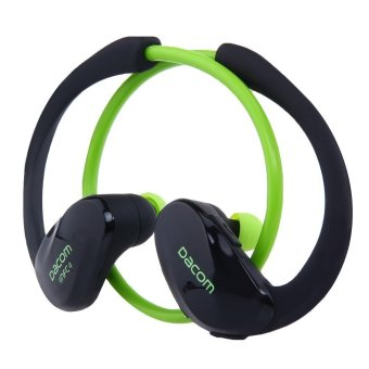 DACOM Athlete NFC Bluetooth V4.1 Hands Free Sports Headset (Green) (Intl)
