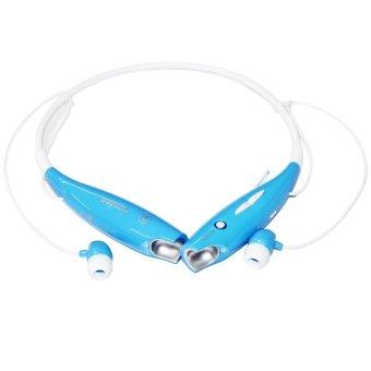 HV-800 Wireless Sport Stereo Bluetooth Headset (Blue) - Intl