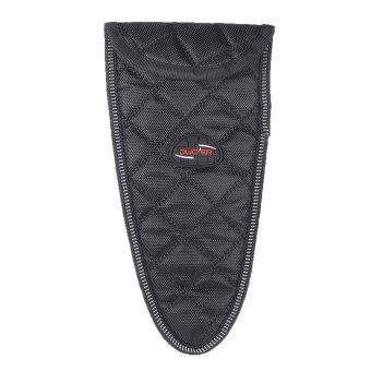 Durable Soft Sax Saxophone Mouthpiece and Neck Pouch Bag Black - Intl