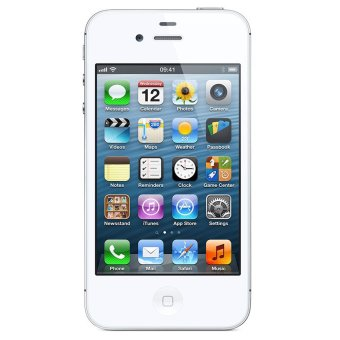 Refurbished Apple iPhone 4s - 16GB - Putih - Grade A