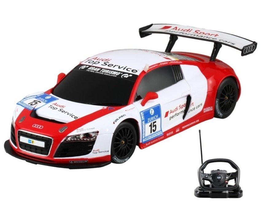 harga RASTAR 53610-10 1:18 Scale Authorized Audi R8 LMS RC Racing Car with Steering Wheel Lazada.co.id