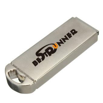 Bestrunner 32GB USB 2.0 Metal Zinc Alloy Casing Flash Drive Memory Stick Thumb Pen U Disk - Intl
