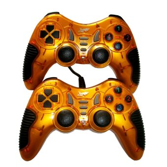 K-One Gamepad Turbo Double Getar 8072 - Gold