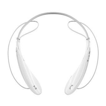 HBS 800 Wireless Bluetooth Headphone Sport Neckband In Ear Bluetooth Headset For iPhone 6 Plus Samsung Galaxy Note 4 2015 New (White) (Intl)