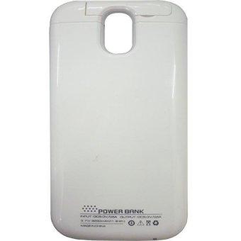 harga Rapid Power Bank Case Samsung Galaxy S4 DF 201 - 3200 mAh - Putih Lazada.co.id