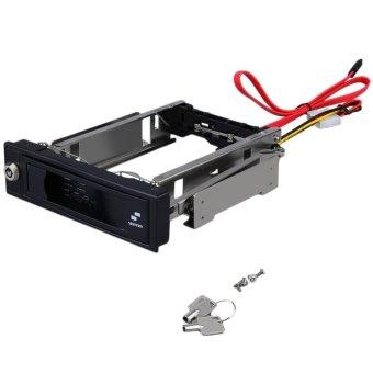 SeeedmallSATA HDD-Rom Internal Enclosure Mobile Rack For 3.5-Inch HDD with Key Lock (Intl)