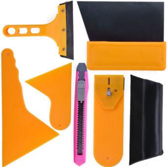 Car Window Tint Tools Kit Film Tinting Scraper Application Installation Fitting (Intl)