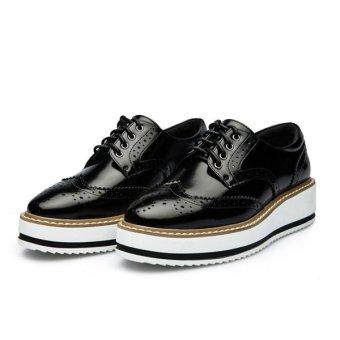 Women Rubber Large Bottom Non Slip Fashion Sports Shoes - Intl