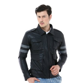 Crows Denim - Jaket Kulit Korean Style XFRW