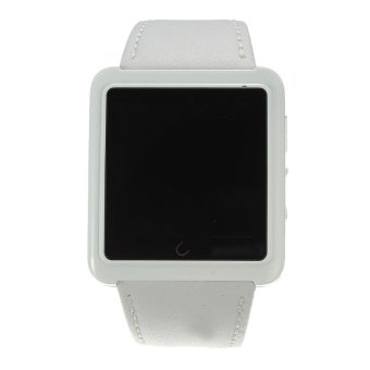 Autoleader U10L Smart Watch Phone Mate Bluetooth for IOS iPhone Android HTC Smartphones (White) (Intl)
