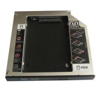 Generic Pata Ide to Sata Hard Drive 2nd Hdd Caddy for Gateway E-475m E-265m Gcc-T10n Dvd- Intl
