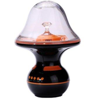 Wireless Bluetooth Dancing Water Speaker With Light Show, Black-pink - Intl