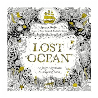 Secret Garden Serie Lost Ocean English Edition Coloring Book 88 Pages (Intl)