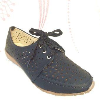 harga NVT Collection Sneaker Wanita Mollyca Shoes 013 - Black Lazada.co.id