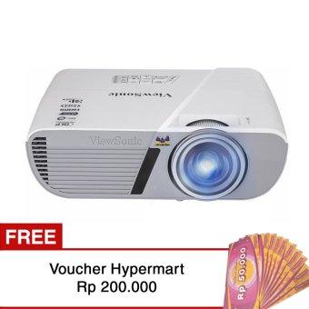 ViewSonic Projector PJD5553Lws + Free Voucher Hypermart