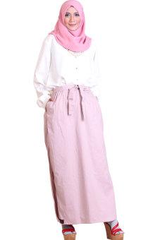harga EG Collections Rok Celana Rania - Dusty Pink Lazada.co.id