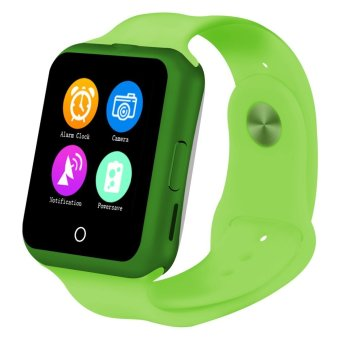 D3 Smart Watch Phone SIM TF Card Bluetooth Wearable Devices for Apple Android Green (Intl)