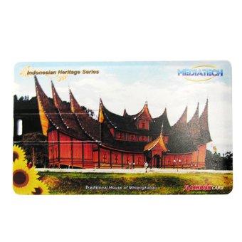 Mediatech Flashdisk Kartu Nama Indonesian Heritage 16GB-Minangkabau