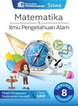 PesonaEdu Pembelajaran Digital - Pembelajaran Siswa Matematika & IPA Kelas 8