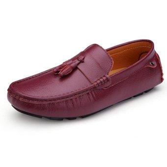 Men Fashion Anti Slip Rubber Sole Casual Shoes (Intl)