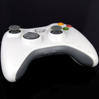ELENXS Slim Game Pad Joypad Controller For MICROSOFT Xbox 360 White New (Intl)