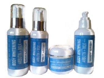 Dr.Skin Care Body Whitening Arbutin & Milk - Paket Pemutih Tubuh