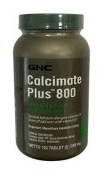GNC Calcimate Plus 800 - 120 tablet