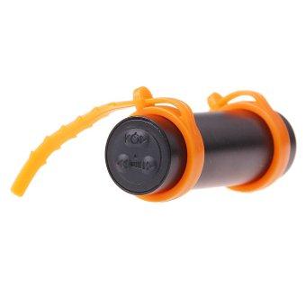 SWIMMING Diving Water Waterproof 4GB MP3 Player FM Radio Earphone BLlack (Intl)