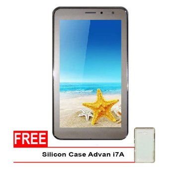 Advan Vandroid i7A 4G LTE - 8GB - Gold + Gratis Silicon Case