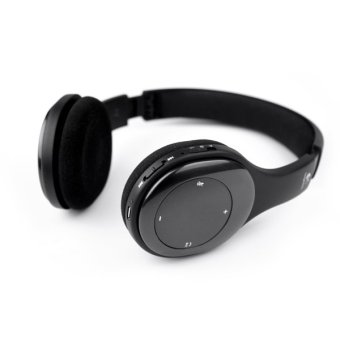 LOGITEC H800 Over the Ear Headphone Bluetooth HeadSet Black