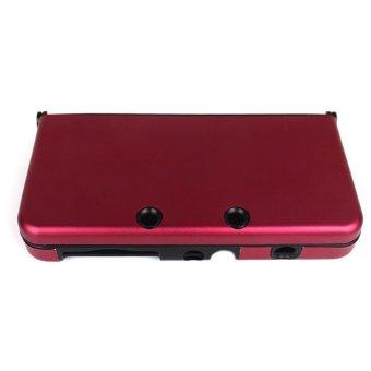 Elenxs Light Weight Aluminium Case Cover Shell Skin For Nintendo 3DS New Red
