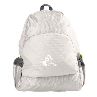 MEGA 20L Unisex Folding Backpack Bag Camping for Hiking Outdoor Ultralight Waterproof(Gray) - INTL