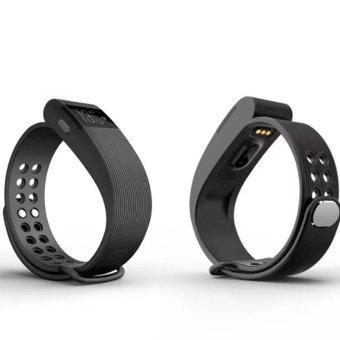 Makibes ID105 Smart Bracelet Heart Rate Monitor Smartband(Black) (Intl)