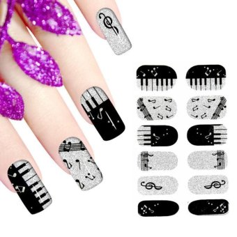 3D Water Transfer Nail Art Stickers Decal Decoration Tips