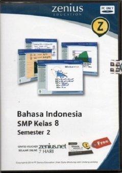 Zenius Set CD SMP Bahasa Indonesia kelas 8 semester 2