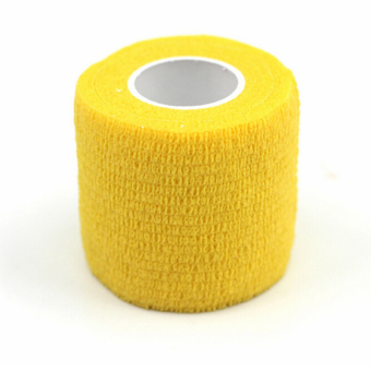 Velishy Muscles Care Physio Therapeutic Tape Roll 4.5m x 5cm Yellow - Intl