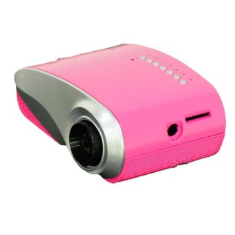 RD-802 Mini LED Digital Projector HD 1080P Video Game TV beamer for Home Theater Cinema (Pink) (Intl)