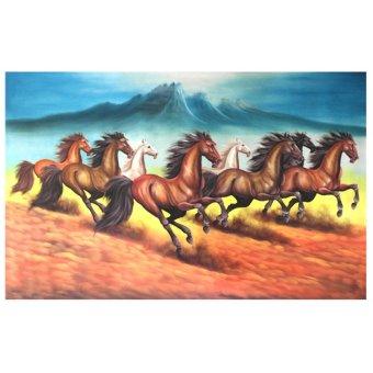harga Lukisanku Lukisan Kuda MR-22 - Lukisan Tangan Lazada.co.id