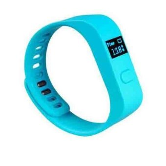 Generic M9 Bluetooth Smart Bracelet with Pedometer Sleep Monitor (Blue) (Intl)