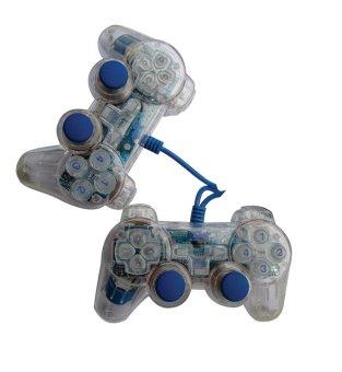 K-One Game Pad Double Transparan - Biru