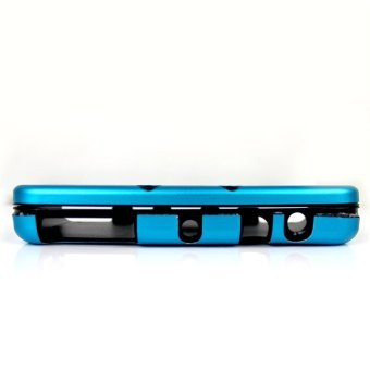 Elenxs Light Weight Aluminium Case Cover Shell Skin For Nintendo 3DS New Light Blue