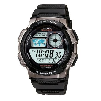 harga Casio Digital - Jam Tangan Pria - Hitam - Resin - AE-1000W-1BVDF Lazada.co.id